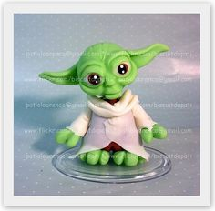 Mestre Yoda by Biscuit da Pati, via Flickr