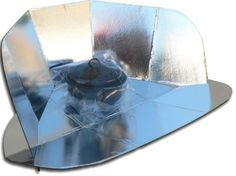 Solar Cookers International, the sponsor of this wiki, sells the CooKit solar panel cooker for US$25 online here.  Panel solar cookers