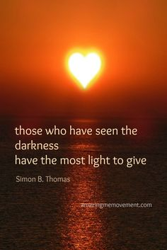 You cannot claim to be light and destroy others, period.  If you behave as though you're heartless, lack empathy, are habitually selfish... there is no light in you, period.  You haven't seen the darkness, you are the darkness.