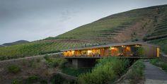Architect Francisco Vieira de Campos of Menos é Mais, have designed a new six room boutique hotel named Casa do Rio, as part of the Quinta Do Vallado Winery in Portugal.