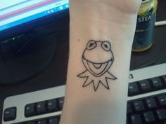 Kermit the frog, Frog tattoos and Kermit on Pinterest