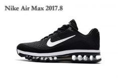 best service 08b5d b339a Mens Womens Nike Air Max 2017. 8 KPU Sneakers Black White Cheap Air Max 95