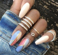 It's time to get inspired by our selection of 26 of the best nails. These are the top trending n Fabulous Nails, Perfect Nails, Gorgeous Nails, Amazing Nails, Best Acrylic Nails, Dope Nails, Beautiful Nail Designs, Creative Nails, Stylish Nails