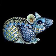 Мыши - Дэвид Бернхэм Смит - художник по керамике