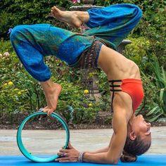 The Dharma Yoga Wheel - www.dharmayogawhe... Yoga Fitness - http://amzn.to/2hmQneS