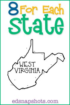 US Geography West Virginia Homeschool Unit Study Us Geography, Geography Activities, Geography Lessons, Teaching Geography, West Virginia, Virginia Studies, Book Suggestions, Book Recommendations, Homeschool Curriculum