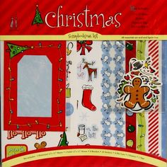Max And Lucy 12 x 12 Christmas Pages Scrapbook Kit is available at Scrapbookfare.com.