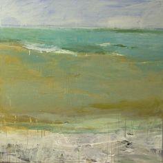 """Saatchi Online Artist: Teresa Cline; Acrylic, Painting """"Ocean Moods twenty two"""""""