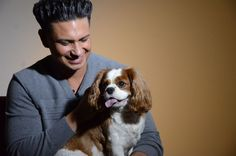 DJ Pauly D with his star, Ruby