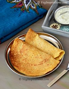 Kambu Oats Adai ~ Bajra Oats Dhal Dosa ~ Savory Millet, Oat and Lentil Crepes Indian Breakfast, Breakfast For Dinner, Oats Recipes, Vegan Recipes, Lacto Vegetarian Recipe, Oats Dosa, My Favorite Food, Favorite Recipes, Crepes And Waffles