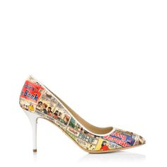 Yea or Nay: Charlotte Olympia 'Archie' Capsule Collection Charlotte Olympia, Archie Comic Books, Archie Comics, Librarian Style, How To Be Graceful, Book Jewelry, Book Lovers Gifts, Painted Shoes, Sock Shoes