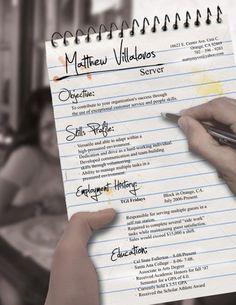 30 Most Inventive CVs - Design - ShortList Magazine