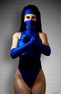 Kitana - Ending 01 by ZabZarock on DeviantArt Kitana Mortal Kombat, Cosplay Mortal Kombat, Mortal Kombat Costumes, Mortal Kombat Art, Jade Mortal Kombat, Ciri Cosplay, Cosplay Hinata, Kitana Cosplay, Kitana Costume