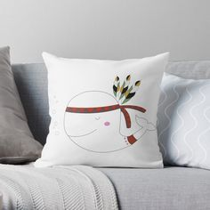 If a full redecorating project isn't in your budget, consider this inexpensive idea to give your room new life.Liven up your living room or bedroom with throw and floor pillows! Throw Pillow Covers, Duvet Covers, Whale Illustration, Designer Throw Pillows, Pillow Design, Floor Pillows, Wall Tapestry, Nursery Decor, Budget