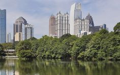 From Piedmont Park