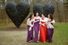 DeCordova Sculpture Museum wedding party#zeliangphotography #JimDineHearts #decordovawedding