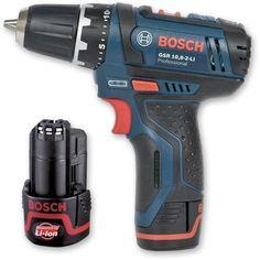 Bosch GSR10.8-2-LI Drill Driver Li-Ion 10.8V [42pc Screwdriver
