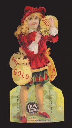 1890s Lion Coffee Trade Card