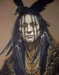 Sioux Indian Warrior that was used as an example for Johnny Depp's character in The Lone Ranger.