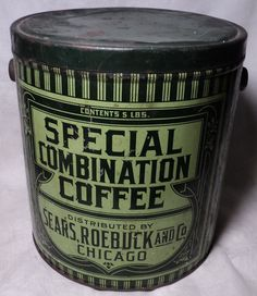 Sears Special Combination Coffee 5 lbs.
