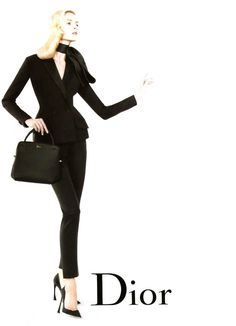 Daria StrokousbyWilly Vanderperre / Christian Dior spring 2013 campaign