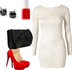 """Christmas Party Idea"" by breannalea on Polyvore"