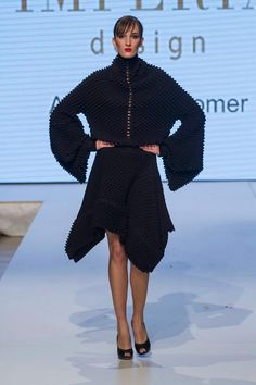 Andrea Vonkomer for IMPERIA DESIGN High Neck Dress, Sweaters, Design, Collection, Dresses, Fashion, Turtleneck Dress, Fashion Styles, Sweater