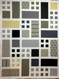 Easy Modern Quilt! Nice and simple and a great way to show off your fabric
