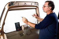 How to Repair Your Defroster Grids