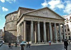 pantheon-voorzijde