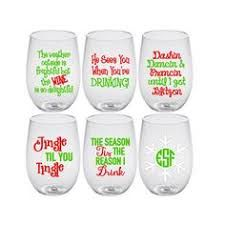 Image Result For Funny Christmas Wine Glass Sayings Christmas Wine Glasses Christmas Glasses Christmas Wine