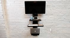 Check out StandCrafted on Kickstarter! The Minimalist, Modern, Wall-Mounted Standing Desk!