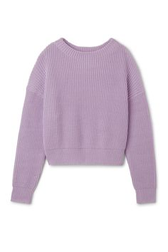 Weekday image 1 of Butter Knit Sweater in Purple Light