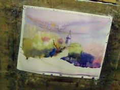 Watercolour demonstration of the Duddon Valley - YouTube