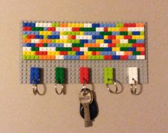 LEGO® key hanger 1 home decor by CreativeBrickRo on Etsy