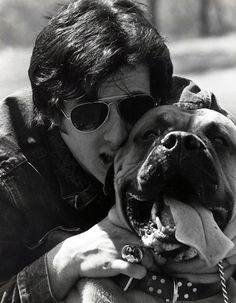 Sly's #dog is his co-star in Rocky Balboa. Who knew?!