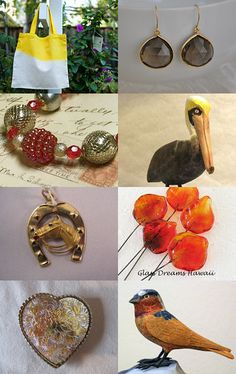 Birds by Marie ArtCollection on Etsy--Pinned with TreasuryPin.com