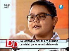 Lela y Juanse, la amistad que lucha contra el cáncer 10/02/16