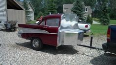 57 Chevy BBQ grill
