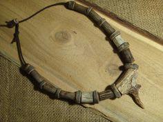 First by CreationSecondeNatur Deer Antler Jewelry, Antler Art, Antler Necklace, Native American Symbols, American Indians, American Indian Crafts, Antler Crafts, American Women, American Art