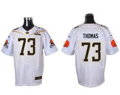repjerseys.ru Cleveland Browns #73 Joe Thomas White 2016 Pro Bowl Nike Elite Jersey
