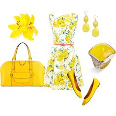 Sunshine, created by kyliestar-1 on Polyvore
