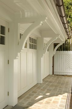 Garage Doors Can Be Really Pretty | The House that A-M Built