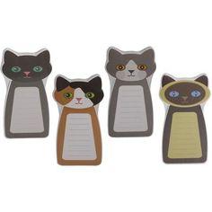 Cat Notepad Set