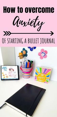 Do you want to start a Bullet Journal but fear is stopping you? The first step to overcome the fear is to accept the feeling of anxiety. Natural Treatment For Anxiety, Anxiety Treatment, Bullet Journal For Beginners, Bullet Journal How To Start A, Bullet Journal Anxiety, Bullet Journals, Overcoming Anxiety, Dear Diary, First Step