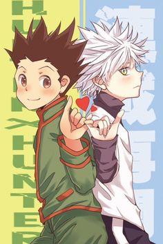 Gon and Killua   Killugon ~Hunter X Hunter