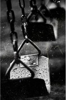 This picture is really detailed and it was very cool how they made the photo have all the small details of the rain on the swing. I thought it was a very interesting picture that really shows how to capture the small things.