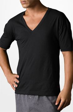 Polo Ralph Lauren Cotton V-Neck T-Shirt (3-Pack) available at #Nordstrom