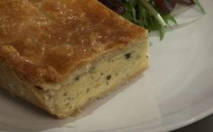 Cheese and onion pie by Andy Bates (Cheese) @FoodNetwork_UK
