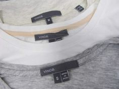 shopgoodwill.com: Vince Peru Soft Cotton T Shirts Sz S and M